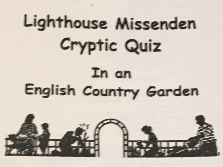 Cryptic Quiz Answers